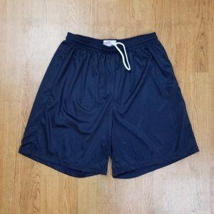 Pack of 4 Soffe Men's Nylon Mini-Mesh Shorts Navy